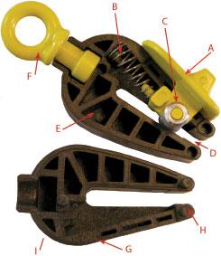 Tarp Clip Diagram